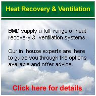 Heat Recovery and Ventilation systems